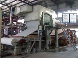 2ton Per Day-1092mm Waste Paper Recycling Facial Tissue Paper Making Machine pictures & photos