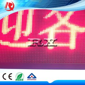 Red Rolling Text Display Outdoor LED Electronic Board pictures & photos