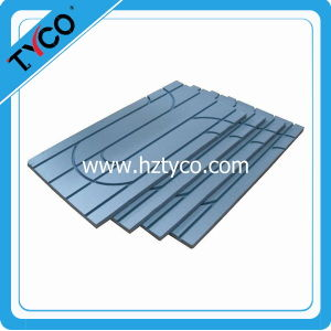 China Hot Water Floor Heating Xps Board China Floor Heating System