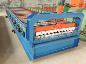 C21 Roof Wall Panel Profile Roll Forming Machine