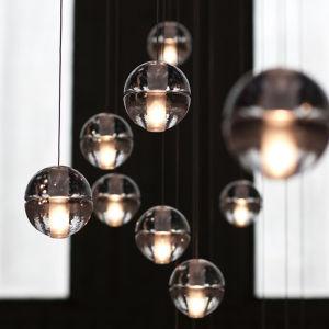 China g4 led crystal glass ball pendant lamp meteor rain ceiling g4 led crystal glass ball pendant lamp meteor rain ceiling light meteoric shower stair bar droplight aloadofball Choice Image