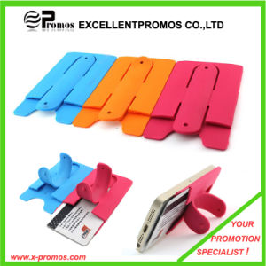 Colorful Multifunctional Silicone Card Holder for Mobile Phone (EP-C8263.82933) pictures & photos