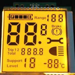 Graphic Stn Factory Sell Digital Speedometer LCD Panel pictures & photos