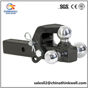 Trailer Towing Triple-Ball Hitch with Pintle Hook pictures & photos