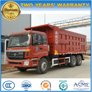 6X4 Heavy Capacity Foton 20 Tons Tipper 20t Dump Truck Price