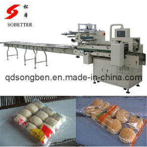 Auto Hamburger Packing Machine with Feeder pictures & photos