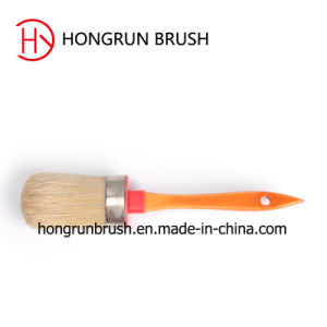 Round Paint Brush with Wooden Handle (HYR078) pictures & photos