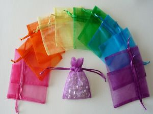 Drawstring Organza Gift Bag for Promotion pictures & photos