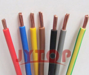 PVC Insulated Building and Electric Wire Professional Supplier with ISO, CE Certificate pictures & photos