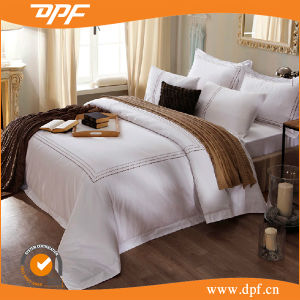 Hotel Standard Home Textiles in Pure Cotton Bed Linen (DPF1035) pictures & photos