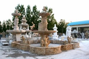 Marble Fountain for Home Decoration Mfp-1293