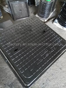 Double Seal Solid Top Manhole Covers with Frames