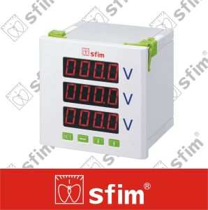 Three Phase Programable Digital Voltmeter pictures & photos