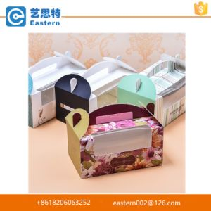 Easy to Go Square Cake Box Cup Cake Box with PVC Window