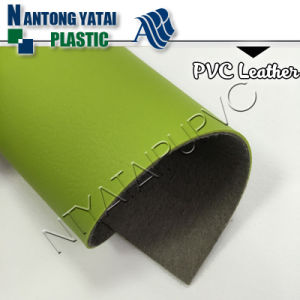 Anti-Hydrolysis PVC Leather for Upholstery Sofa Chairs with Good Quality Leatherette