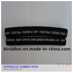 4sp/4sh Steel Wire Spiral Hydraulic Hose for Carrying Hydraulic Fluids pictures & photos