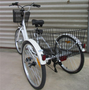 24 Inch Three Wheels E-Bicycle pictures & photos