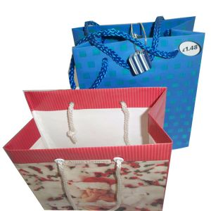 Custom Made Paper Bags with Handles (OEM-PB027) pictures & photos