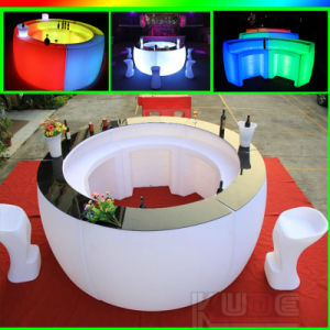 LED Glow Bar Chairs with Remote Control for Events/ Nightclub/ Wedding pictures & photos