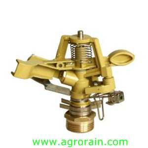"Widely Used Zinc Alloy Controllable Angle Rotary Sprinkler 3/4"" Male for Garden Orchard Irrigation"