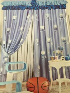 2016 Morden Polyester Texile Window Curtain Fabric EDM4883