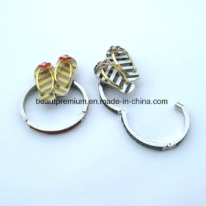 Customized Metal Bag Holder with Shoes Shape Bag Hanger BPS0135
