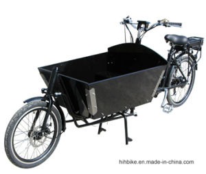 Long John Bakfiets Cargo Bicycle with Power Assist pictures & photos