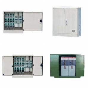 10kv Fully Shielded Remote Control Low-Pressure High Quality Steel Power Cable Distribution Branch Box/Switchgear with Sf6 Load Switch and Scada pictures & photos