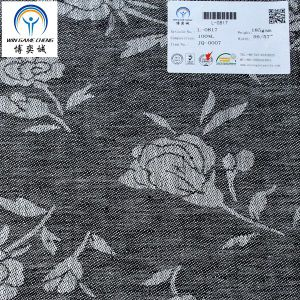 Jacquard 14*14 100% Linen Fabric pictures & photos