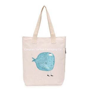 Customized Canvas Tote Handbag Cotton Bag for Beach pictures & photos