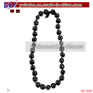 Costume Jewelry Kukui Nut Lei Pearl Necklace (BO-3038) pictures & photos