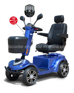 New Design 4 Wheels Electric Scooter Handicapped Mobility Scooter pictures & photos