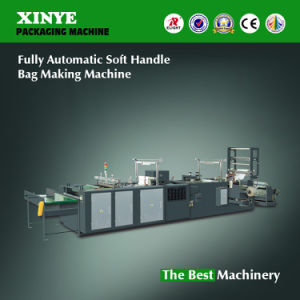 Factory Direct Fully Automatic Soft Handle Bag Making Machine pictures & photos