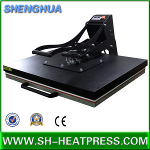 Big Size Manual Heat Press Machine Hot Sale with Ce Apprive 60X80cm 70X100cm 60X100cm pictures & photos