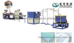 PVC Spiral Hose Production Line /64-200mm Pipe Plastic Extruder