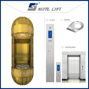 Sightseeing Elevator Observation Lift with Steel Structure Shaft
