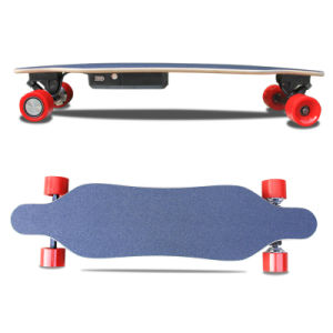 Four Wheel Remote Control Mini Electric Longboard Skateboard with LG Lithium Battery