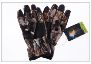 Anti-Stab-Needle Military Multicamo Water-Proof Wild Traning Multicamo Camouflage Tactical Outdoor Bionic Full-Half Finger Sports Travelling Leather Glove pictures & photos