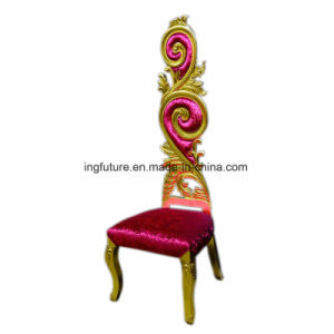 Gorgeous Pteris Banquet Chair with High Back and Soft Seat