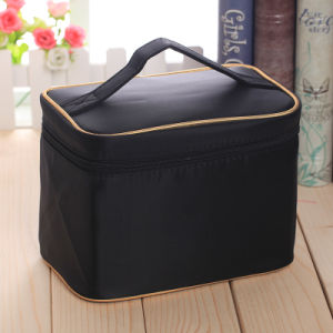 New Large Capacity with Gold Cosmetic Bag Waterproof Cosmetic Bag High Quality pictures & photos