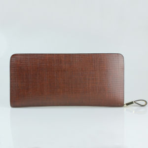 Men Genuine Leather Wallets Fashion Fashion Clutch Travel Wallet pictures & photos
