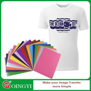 afa7e6ad839 China Qingyi Easy Weed Heat Transfer Vinyl for Textile T Shirt ...