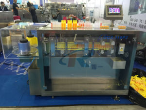 Ggs-118 P2 15ml Olive Oil LDPE Bottle Automatic Filling Sealing Machine pictures & photos