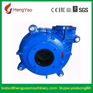 Corrosion Chemical Rubber Lined Ya Slurry Pump for Sale