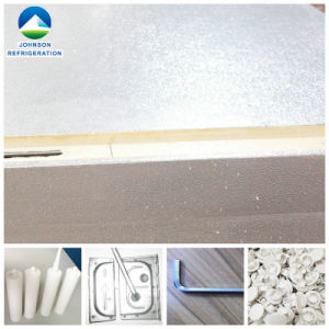 100mm Aluminum Cam-Lock PU Sandwich Insulation Cold Room Panel