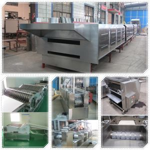 High Efficient Stainless Steel Center Filling Biscuit Production Line pictures & photos