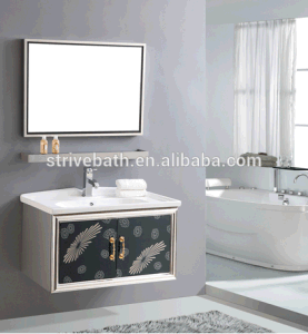 Zhejiang Professional Stainless Steel Cabinet Bathroom Vanity Furniture