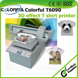 Newest Small Business Ideas T Shirt 3D Textile Inkjet Plotter Printing Machine