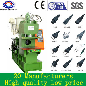 Plastic Inserts Vertical Injection Molding Machine for Plug pictures & photos