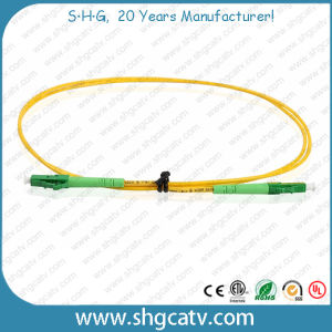 High Quality Single Mode Simplex LC/APC Fiber Optical Patch Cord pictures & photos